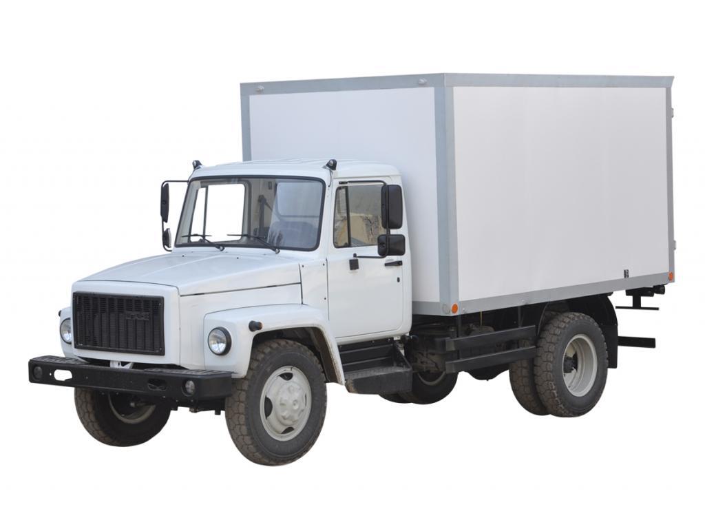 Промтоварный фургон на шасси ГАЗ-3309