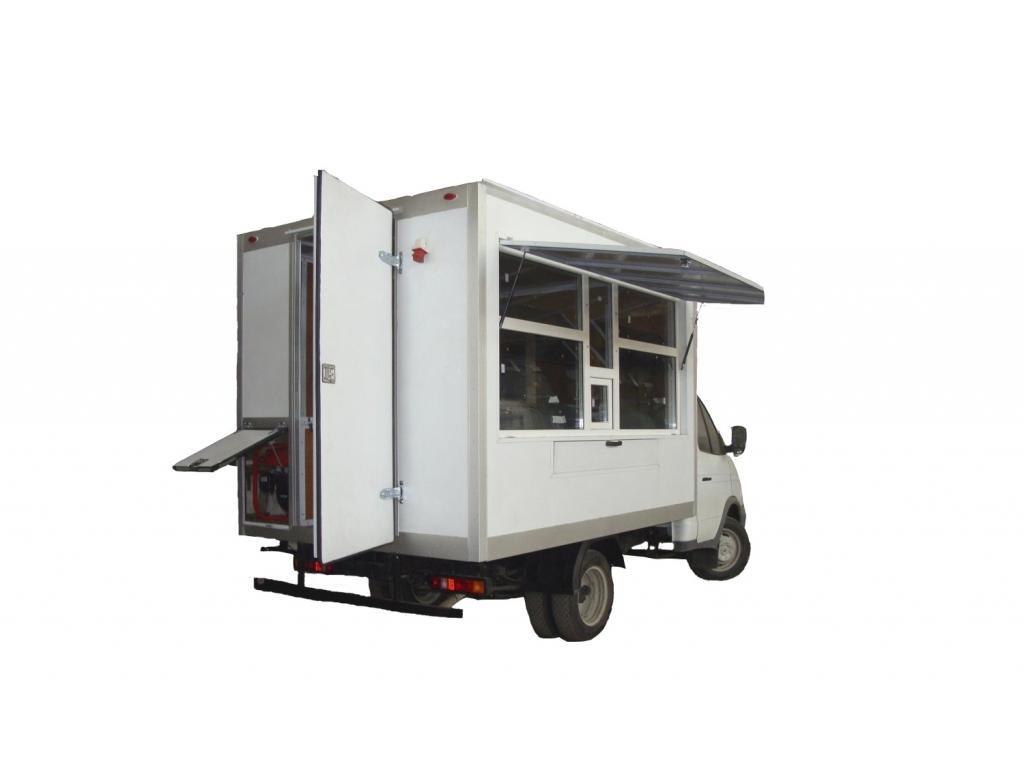 Фургон-автолавка на шасси ГАЗ-3302