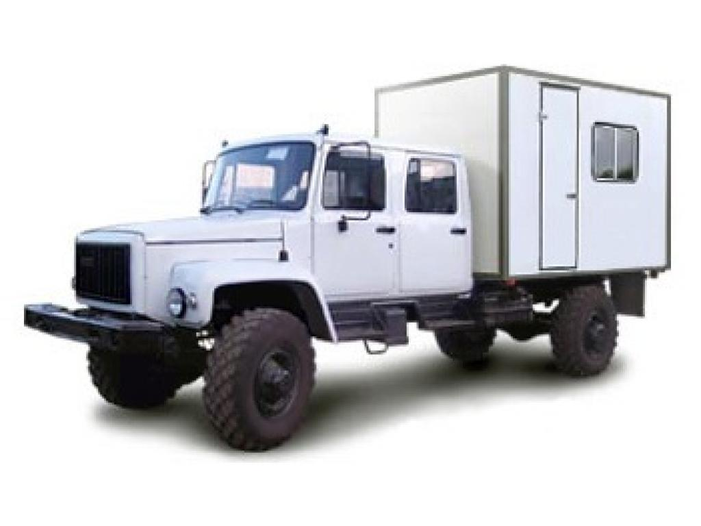 Фургон-автомастерская на шасси ГАЗ-33081