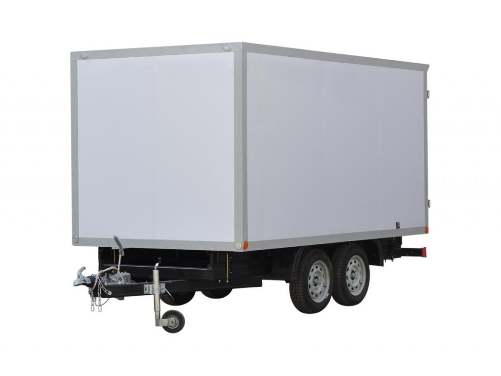 Изотермический прицеп-фургон на шасси двухосного прицепа